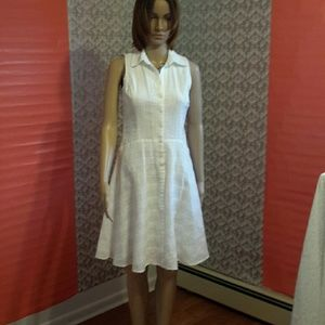 Nine West white dress